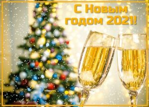 С Новым 2021 годом !